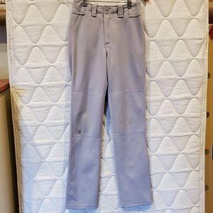 Grey Easton baseball pants